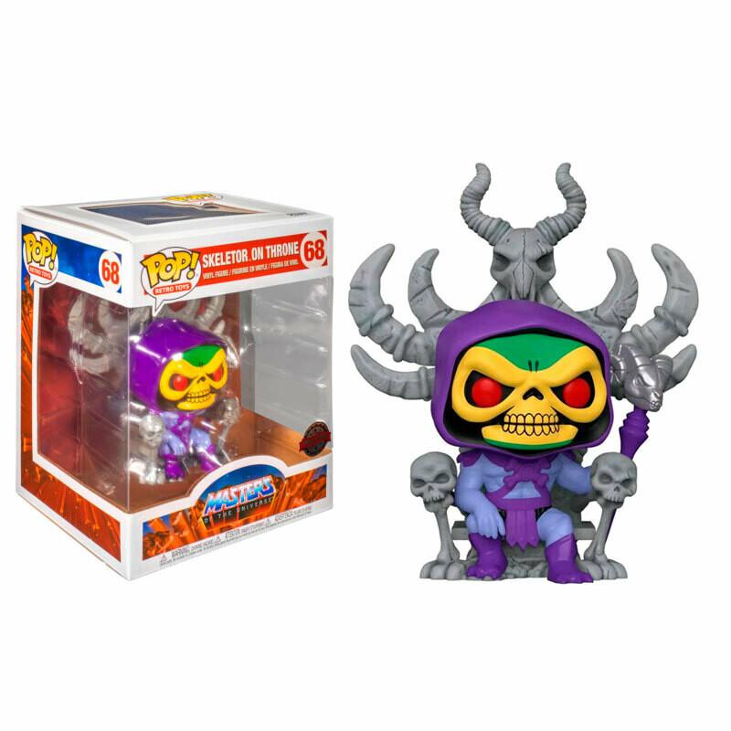Funko Pop! Skeletor en el Trono - Masters of the Universe