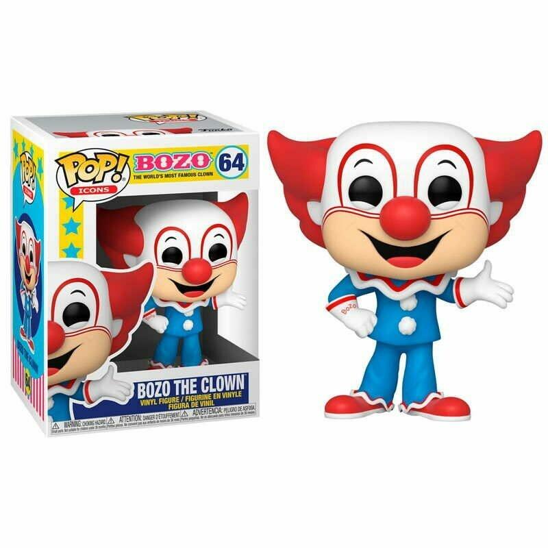 Funko Pop! Bozo the Clown - Icons