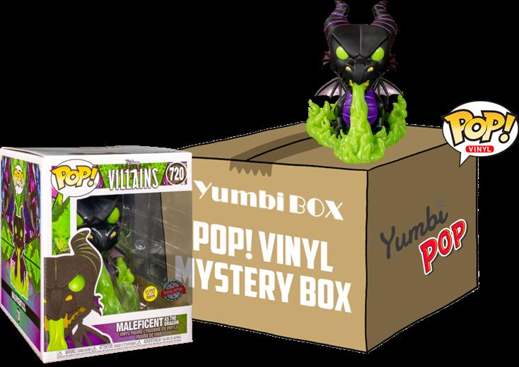 Funko Pop! Mini-Yumbi Mystery Box - Maleficent Dragon (GITD) + 2 POP!