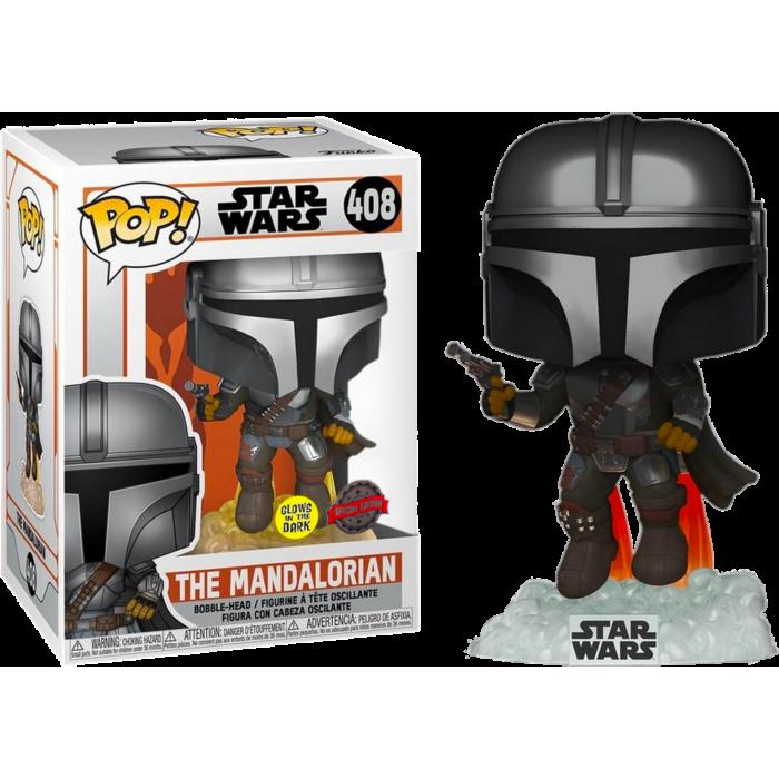 Funko Pop! The Mandalorian (GITD) - Star Wars