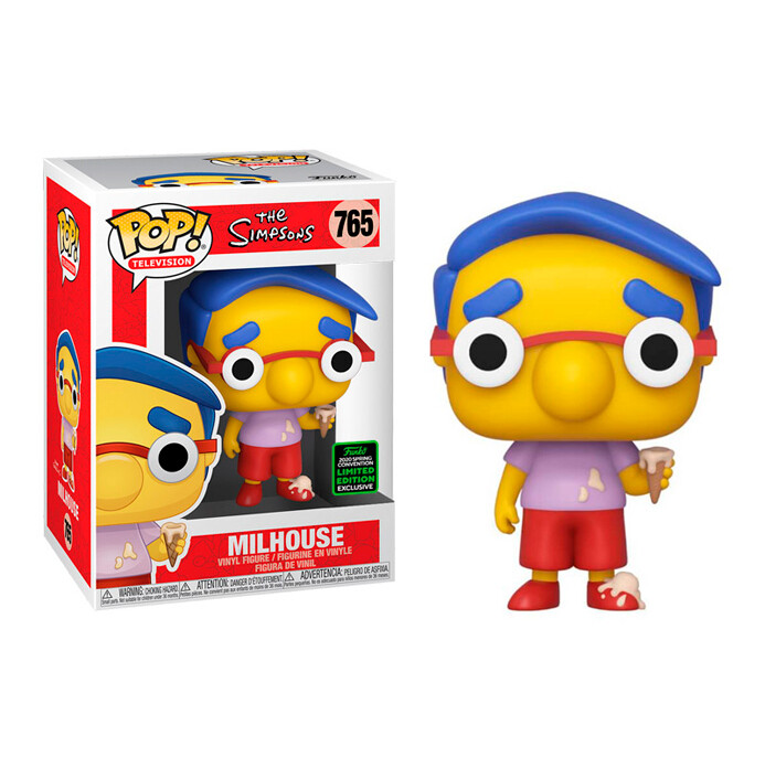 Funko Pop! Milhouse - The Simpsons 2020 Spring Convention Limited Edition Exclusivo
