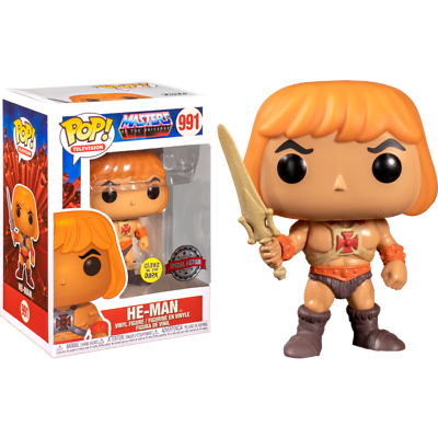 Funko Pop! He-man GITD - Masters of the Universe Special Edition