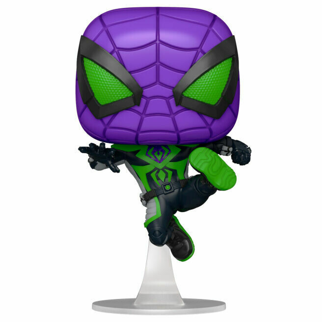 Funko Pop! Miles Morales Purple Reign Suit (Efecto Metálico) - Spider-Man