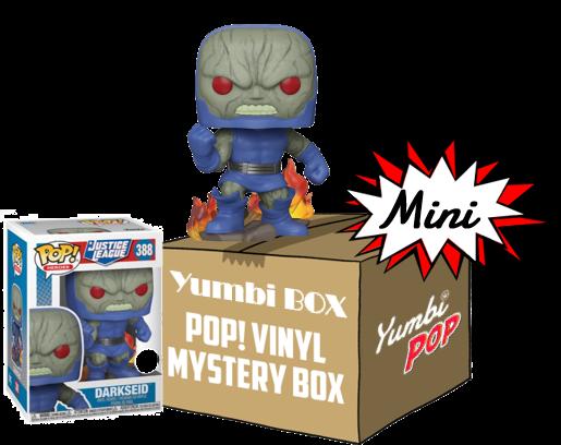 Funko Pop! Mini-Yumbi Mystery Box - Darkseid + 2 POP!
