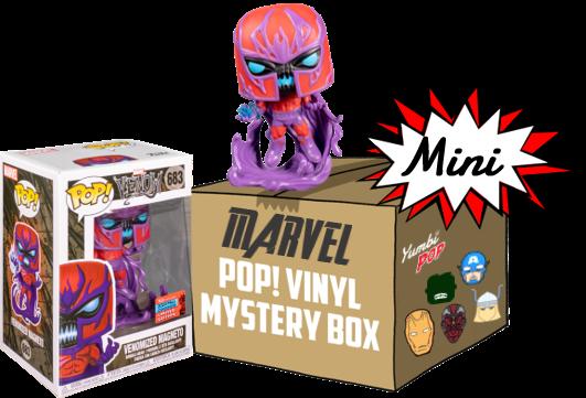 Funko Pop! Mini-Yumbi Mystery Box - Venomized Magneto + 2 POP! Marvel