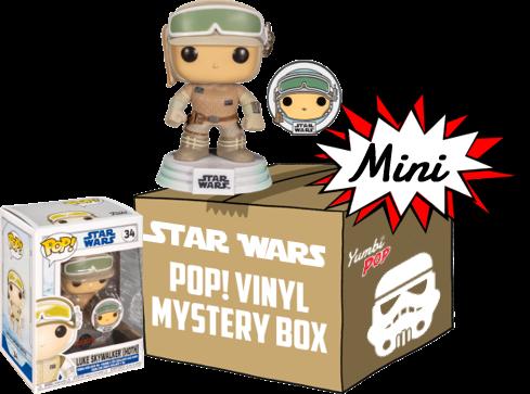 Funko Pop! Mini-Yumbi Mystery Box - Luke Skywalker + 2 POP! Star Wars