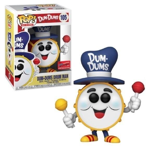 Funko Pop! Dum-Dums Drum Man - 2020 Fall Convention Limited Edition