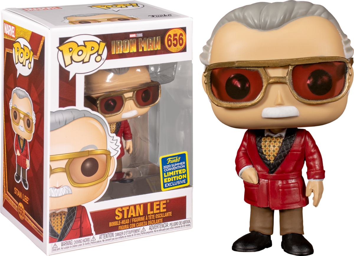 Funko Pop! Stan Lee 656 - Marvel Iron Man Summer Convention 2020 Limited Edition
