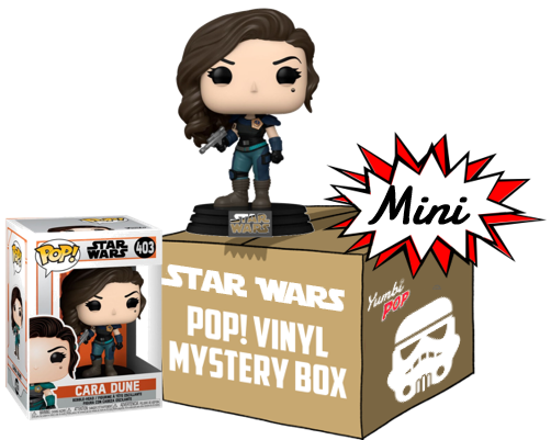 Mini-Yumbi Mystery Box - Cara Dune (#403) + 2 POP! Star Wars
