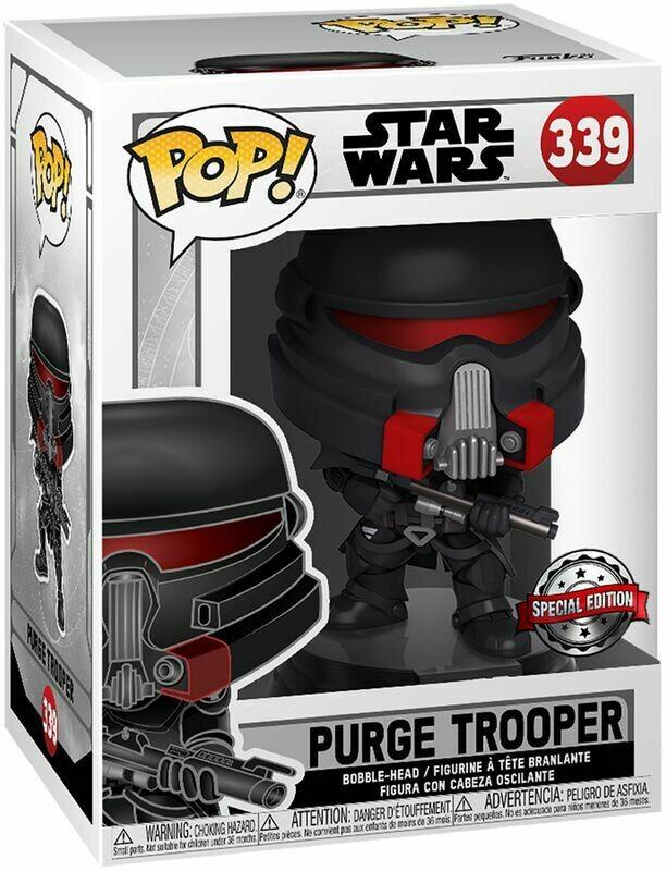 Funko Pop! Purge Trooper (Special Edition) - Star Wars