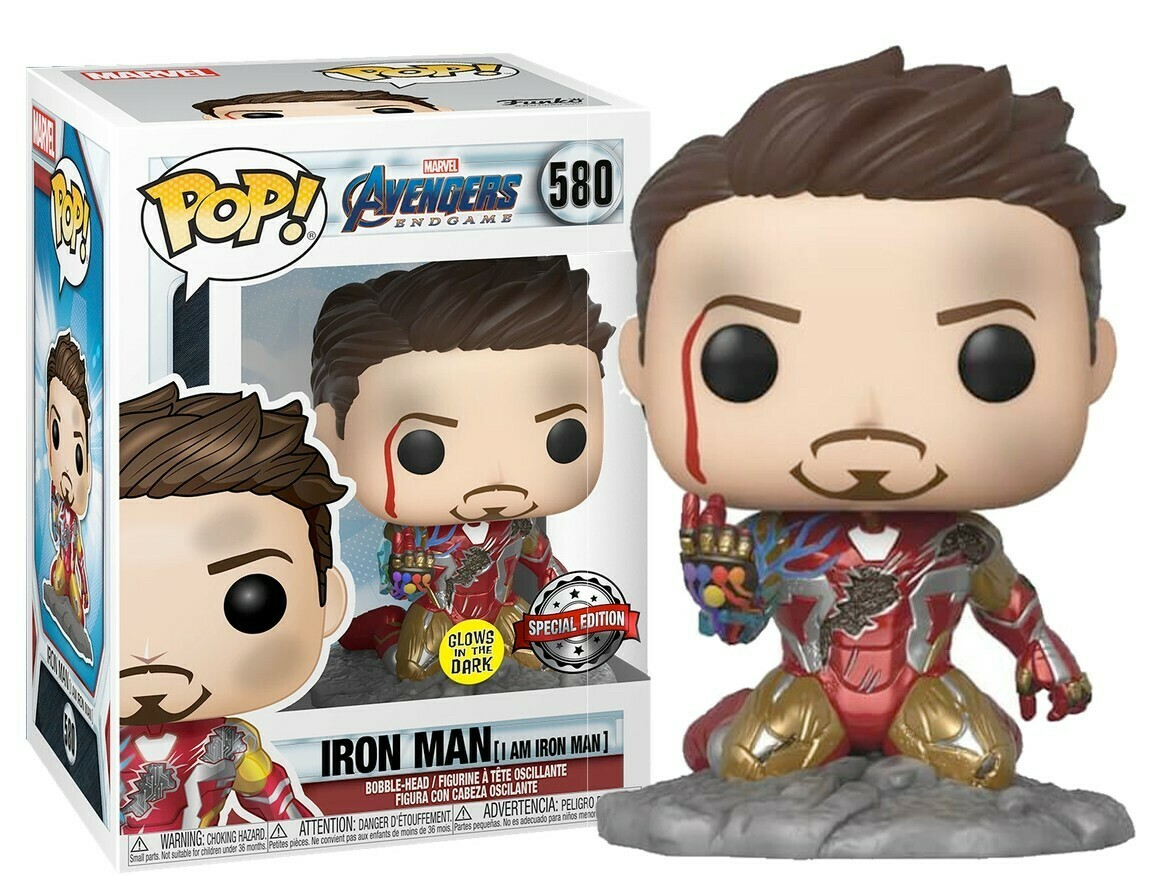 Funko Pop! I am Iron Man