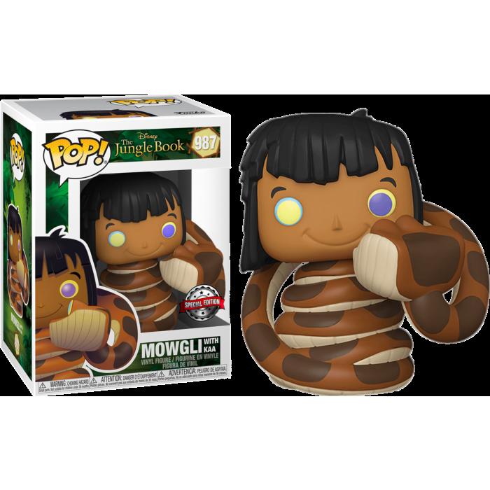 Funko Pop! Mowgli with Kaa