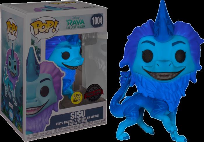 Funko Pop! Sisu (GITD) - Raya y el último Dragon