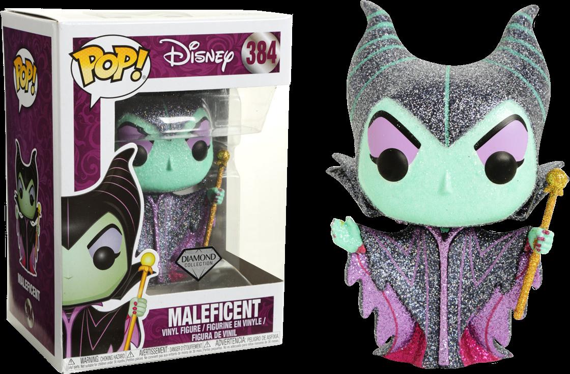 Funko Pop! Maleficent Diamond Glitter - La Bella Durmiente