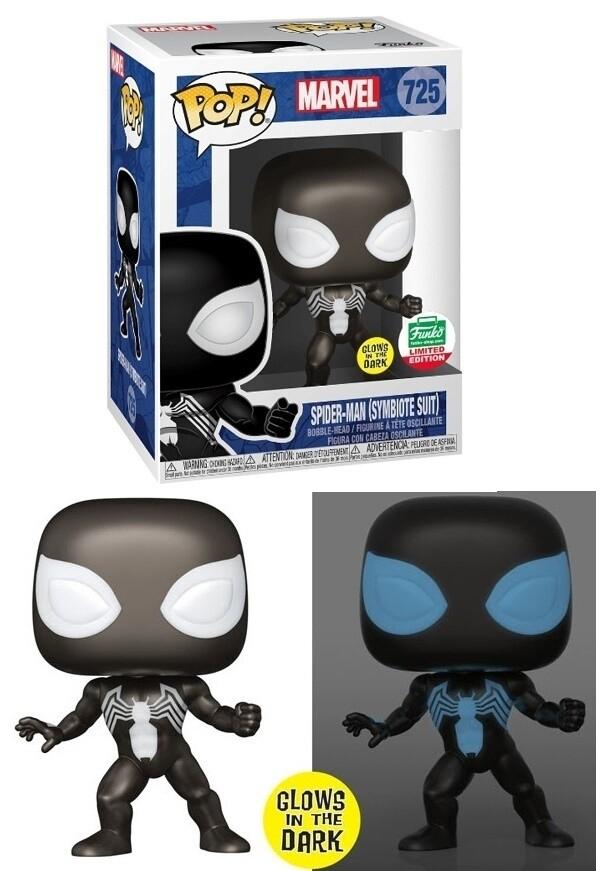 Funko Pop! Symbiote Spider-Man glow