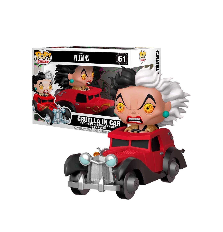 Funko Pop! Cruella in Car (caja algo dañada)