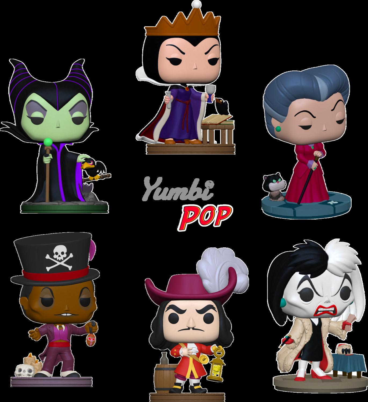 Yumbipack Funko Pop! Disney Villains