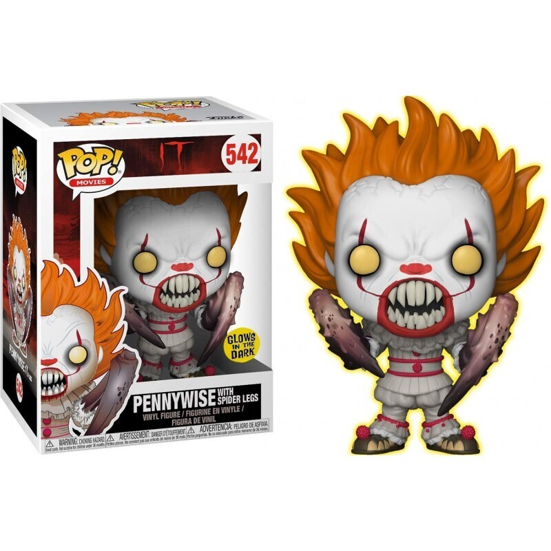 Pennywise with Spider Legs (Glow in the Dark) - IT