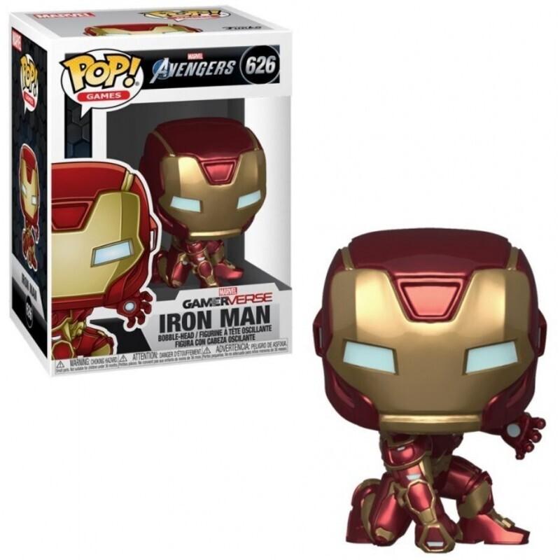Funko Pop! Iron Man Traje Stark Tech - Avengers Marvel