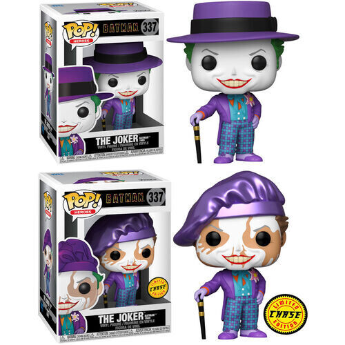Funko Pop! Joker con sombrero (opcion chase) - DC