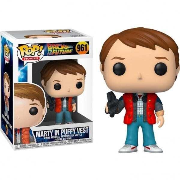 Funko Pop! Marty con chaleco hinchado - Regreso al futuro