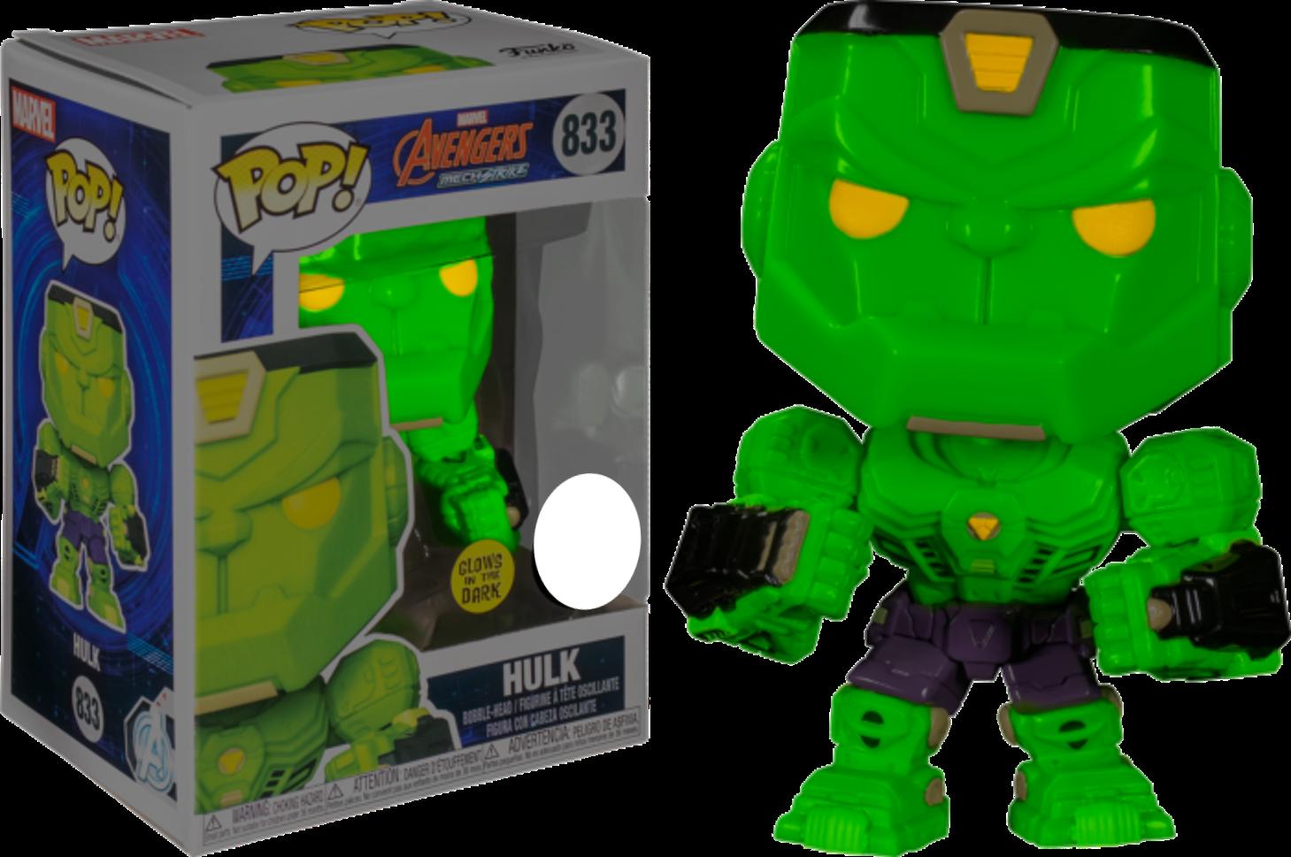 Funko Pop! Hulk Mecha Glow - Marvel