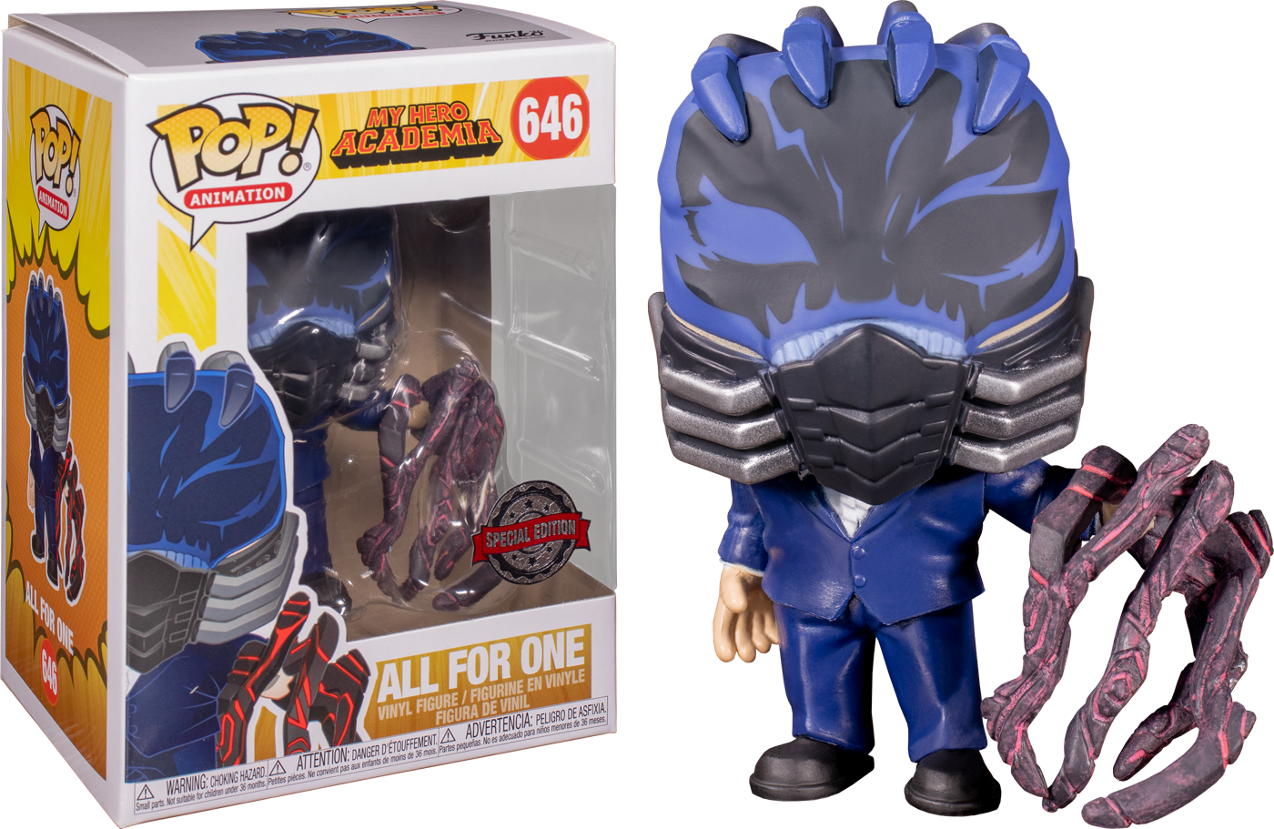 Funko Pop! My Hero Academia - All For One Quirk