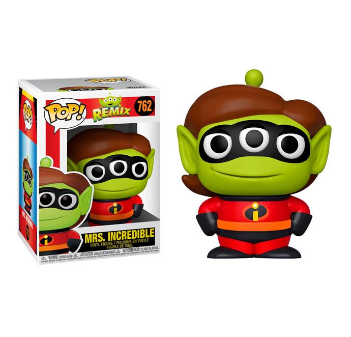 Funko Pop! Alien as Mrs. Incredible - Pixar Alien Remix