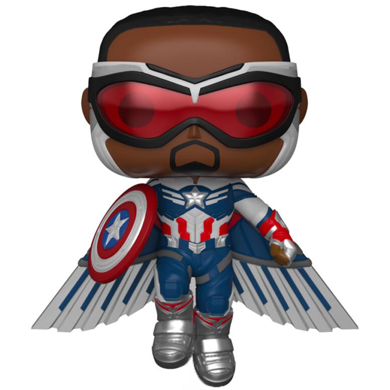 Funko Pop! Captain America (Special Edition) 817 - Falcon and the Winter Soldier