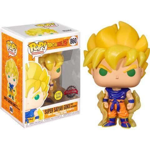 Funko Pop! Super Saiyan Goku First Apperance Glow in the Dark - Dragon Ball