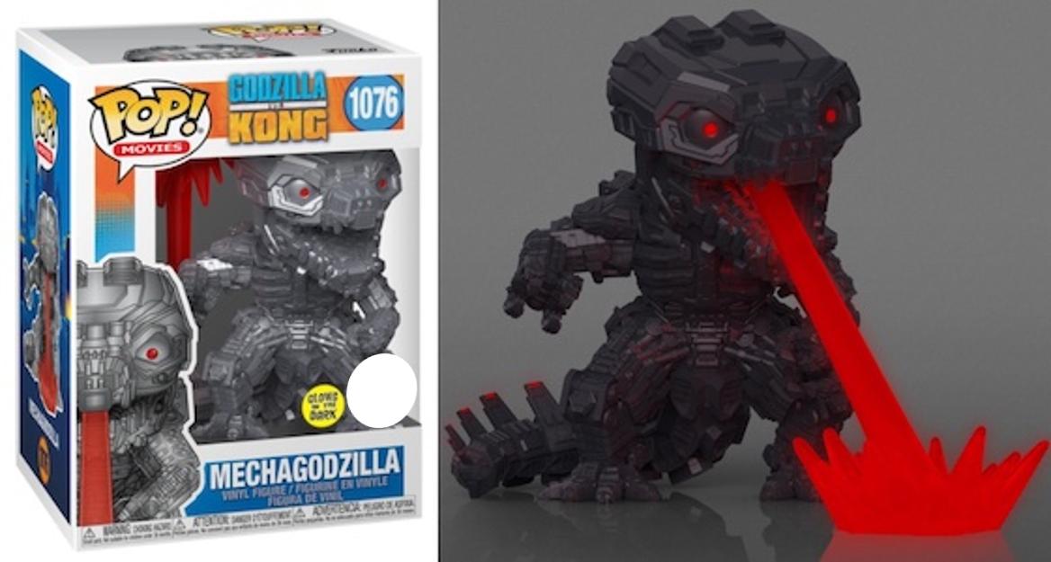 Funko Pop! Mechagodzilla (Glow in the Dark) - Godzilla vs Kong