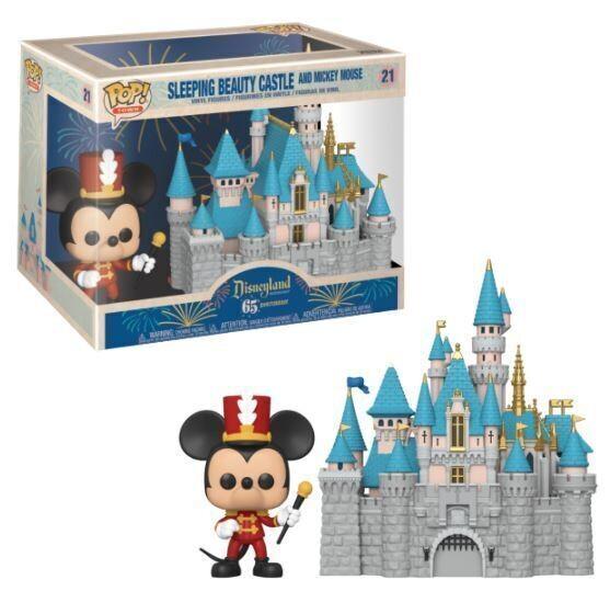 Funko Pop! Sleeping Beauty Castle y Mickey Mouse - Disneyland 65º aniversario