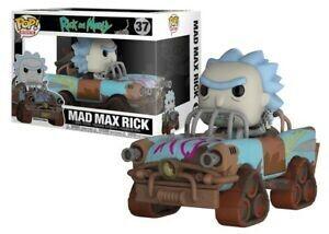 Funko Pop! Rides Mad Max Rick - Rick and Morty