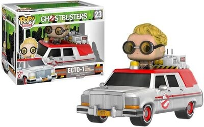 Funko Pop! Rides ECTO-1 with Jillian Holtzmann - Ghostbusters