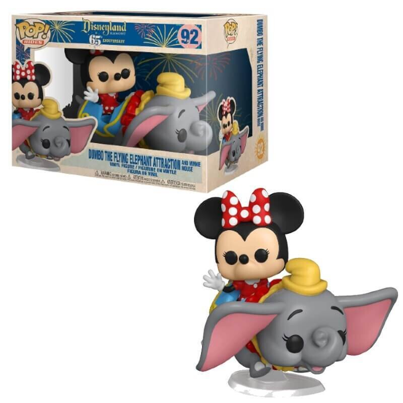Funko Pop! Rides Dumbo the flying elephant attraction and minnie mouse - Disney