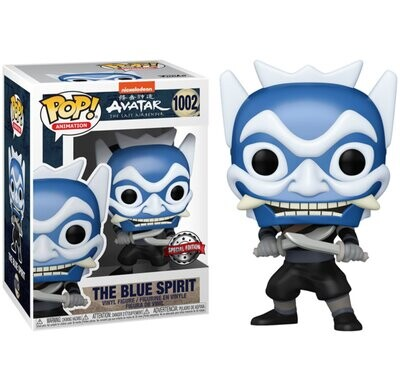 Funko Pop! The Blue Spirit (opción chase) - Avatar The Last Airbender