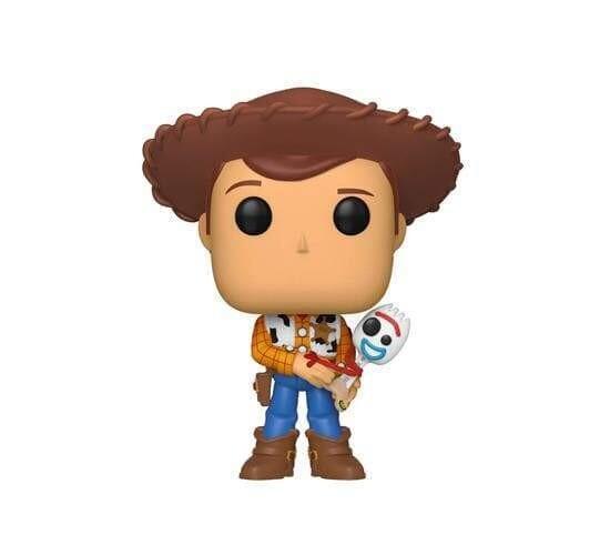 Funko Pop! Sheriff Woody holding Forky - Disney (sin sticker)