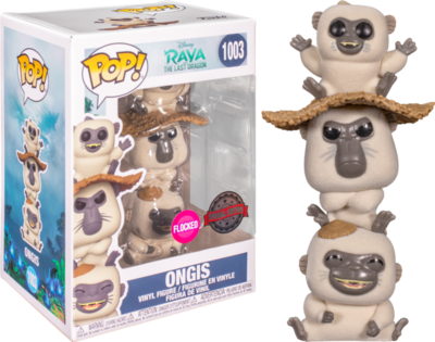 Funko Pop! Ongis (Flocked) - Disney