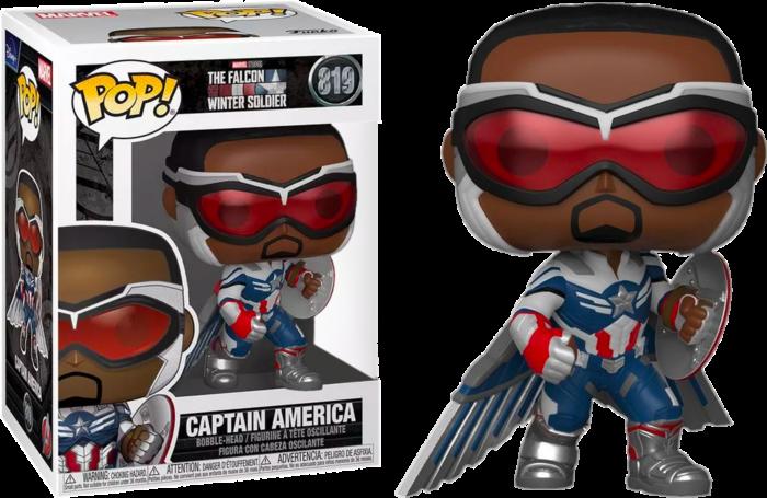 Funko Pop! Captain America 819 - Falcon and The Winter Soldier (Marvel)