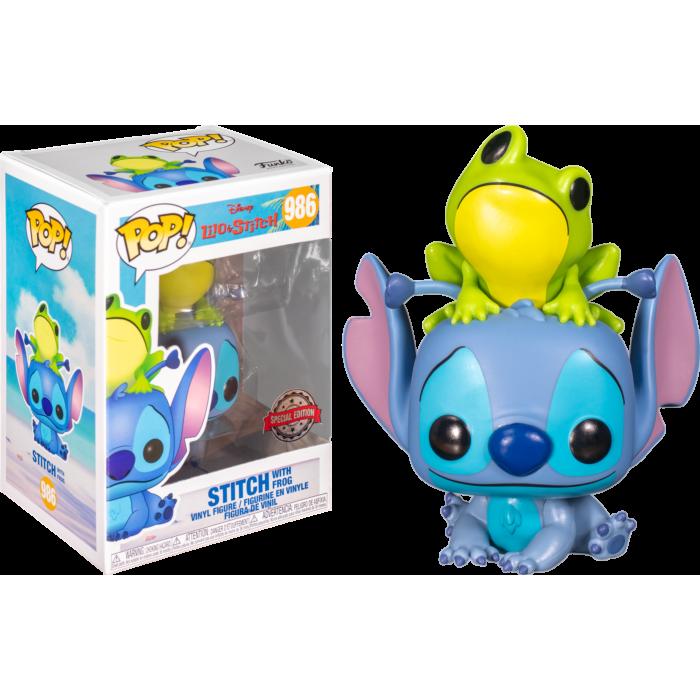 Funko Pop! Stitch with Frog - Disney
