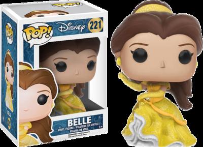 Funko Pop! Belle (Diamond -Glitter) (sin sticker) - Disney