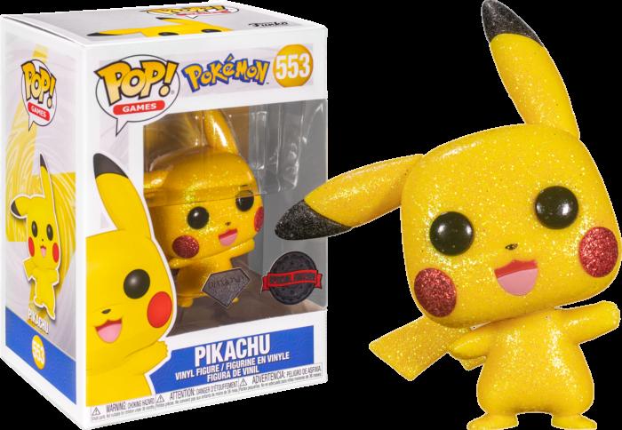 Funko Pop! Pikachu (Diamond - Glitter) - Pokemon