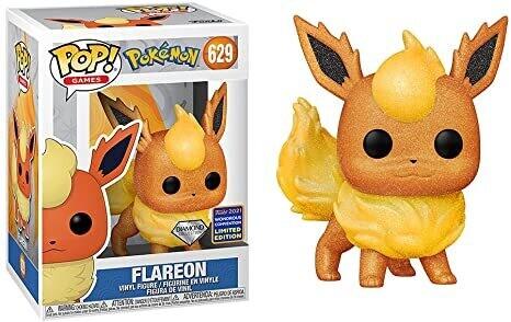 Funko Pop! Flareon (Diamond - Wondrous Convention 2021) - Pokemon