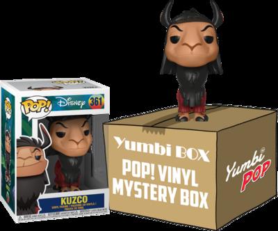 Yumbi Mystery Box - Kuzco (Special Edition) + 5 POP!