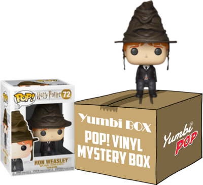 Yumbi Mystery Box - Ron Weasley con sombrero seleccionador (Special Edition) + 5 POP!