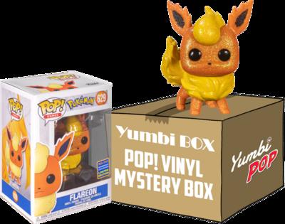 Yumbi Mystery Box - Flareon Diamond (Wondrous Convention 2021) + 5 POP!