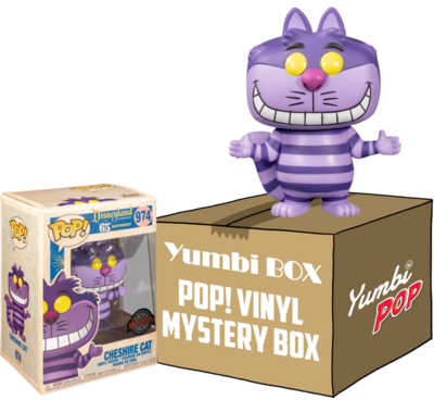 Yumbi Mystery Box - Cheshire Cat (Special Edition) + 5 POP!