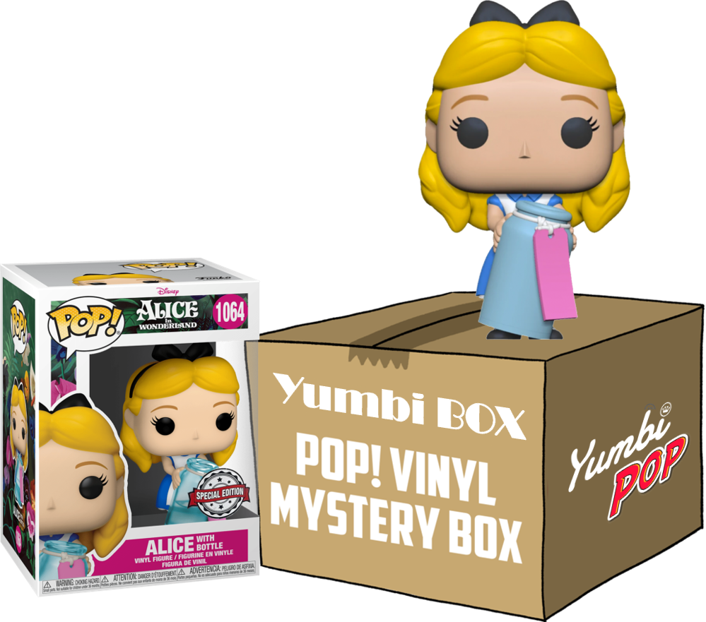 Yumbi Mystery Box - Alice with Bottle (Special Edition) + 5 POP!