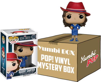 Yumbi Mystery Box - Agent Carter + 5 POP!