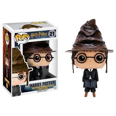Funko Pop! Harry Potter with Sorting Hat - Harry Potter